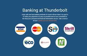thunderbolt casino banking-SA